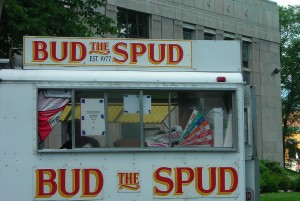Halifax's best french fries are served by Bud the Spud