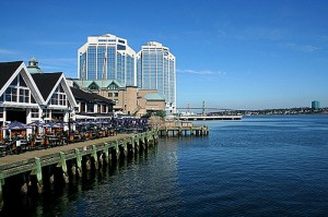 Start your day in Halifax with a walk along the waterfront.