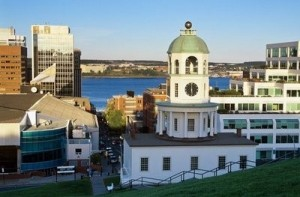 Halifax's Historic Clock Tower