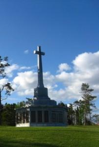 Sailor's Memorial in Point Pleasant Park