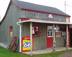 Charlie's Music Store in Cheticamp
