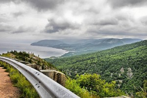 The gorgeous Cabot Trail
