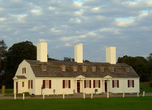 The lovely historic site of Fort Anne in Annapolis Royal