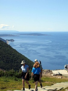 The view from the popular Skyline Trail in the Cape Breton Highlands National Park.