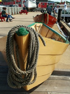 Learn about boat making at the Fisheries Museum in Lunenburg.