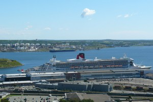 Thousands of visitors arrive in Halifax by cruise ship every year.